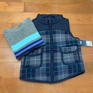 🆕 2 piece vest and sweater set